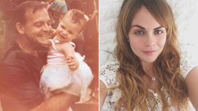 """""""Hoy lloro como lloraba cuando niña"""": la conmovedora despedida de Laura Carmine para su padre"""