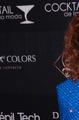 María Victoria en el homenaje a la productora Carla Estrada, noviembre de 2015.