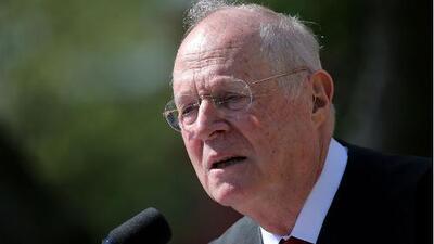 El magistrado Anthony Kennedy anuncia que se retira de la Corte Suprema de EEUU
