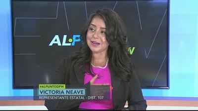 Al Punto DFW: Victoria Neave