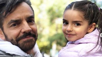 El tierno reencuentro entre Eugenio Derbez y Aitana