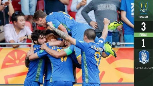 ¡Campeones! Ucrania se queda con el Mundial Sub 20