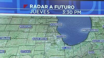Noche de jueves con cielos despejados y temperaturas bajas en Chicago