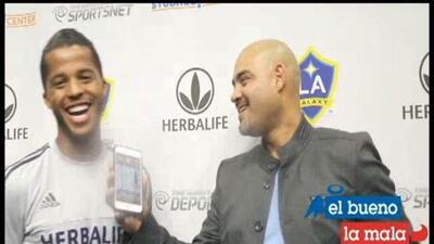 Gio mostró ganas de jugar el México vs USA en entrevista con El Bueno, La Mala y El Feo