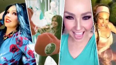 El 'Thalía Challenge' y otras veces en las que la mexicana nos ha hecho reír