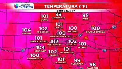 ¡Índice de calor está en 111F en Dallas!
