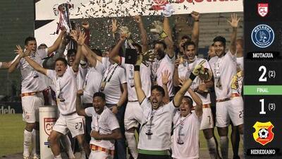 Herediano se corona en la Liga Concacaf a costa del Motagua y va a la Liga de Campeones