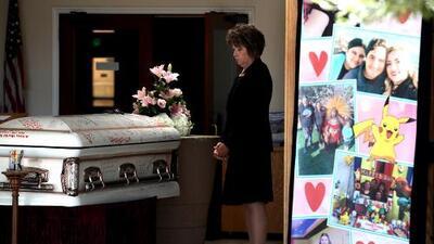 Rinden homenaje a Keyla Salazar, la joven de 13 años que murió en el tiroteo en Gilroy