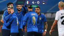 Doblete de Vincenzo Grifo abre triunfo de Italia 4-0 ante Estonia