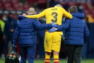 El Barcelona dio a conocer la gravedad de la lesión de Gerard Piqué