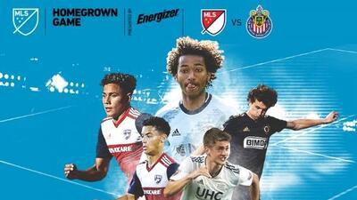 MLS anuncia convocatoria de canteranos para enfrentar a Chivas Sub-20 en el Homegrown Game