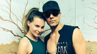 Belinda tiene novio para largo rato: Criss Angel sale del hospital y regresa a la magia