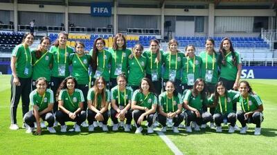Tri femenil Sub 20 debutará en Mundial ante Brasil