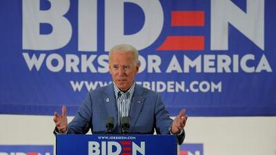 El expresidente Joe Biden lidera la encuesta sobre la nominación demócrata a la presidencia