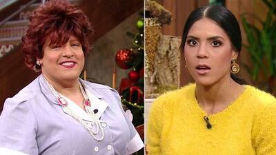 Francisca se quedó sin palabras al tratar de responder lo que Doña Meche quería saber de Nuestra Belleza Latina