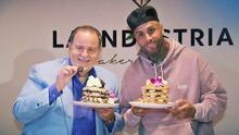 Nicky Jam recibe a Raúl en su nuevo restaurante dedicado a la elaboración de deliciosos pancakes