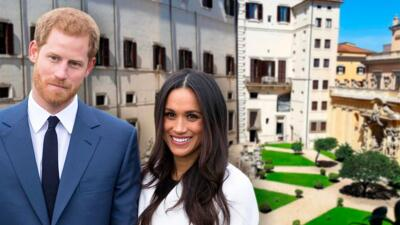 El príncipe Harry y Meghan Markle se alojaron en un exclusivo complejo italiano de 1,496 dólares la noche