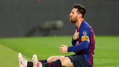 ¿Jugará el fin de semana?: Messi aún no entrena con el grupo