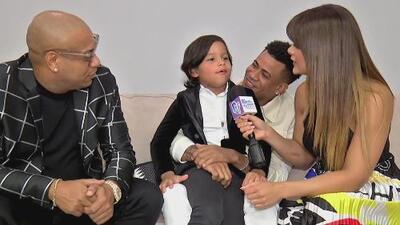 Hijo de Alexander Delgado, de Gente de Zona, se roba la atención de Clarissa Molina en esta entrevista