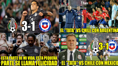 Los memes que dejó el triunfo de México sobre Chile en el debut del 'Tata' Martino