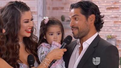 """""""En eso estamos"""": esposo de Ana Patricia sobre un hermanito para 'Baby Giulietta'"""