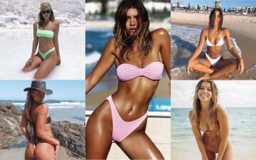 Kristina Mendonca, la modelo australiana que te dejará sin palabras