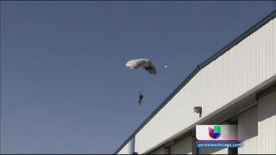 Paracaidista sufre mortal accidente