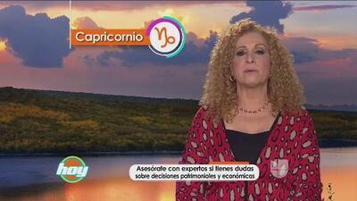 Mizada Capricornio 20 de enero de 2016