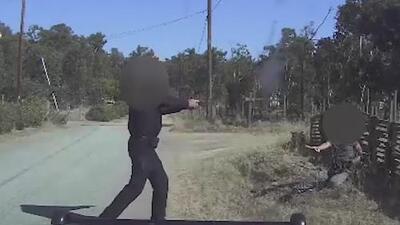 Revelan imágenes del tiroteo en Herald donde estuvo involucrado un oficial
