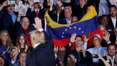 Venezolanos exiliados en Miami se muestran optimistas tras escuchar el discurso del presidente Trump