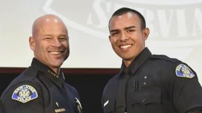 Hermanos hispanos que trabajaban en el campo se convierten en policías de San José