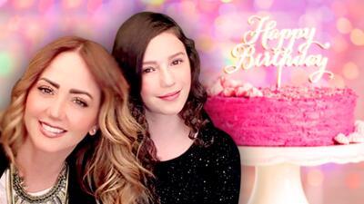 La hija de Andrea Legarreta celebró su cumpleaños y esto es lo que su mamá le pidió