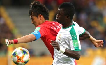 En fotos: Corea del Sur prevaleció sobre Senegal en la batalla del Mundial Sub-20