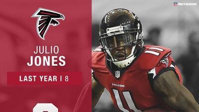#3: Julio Jones (WR, Falcons) | Top 100 Jugadores 2017