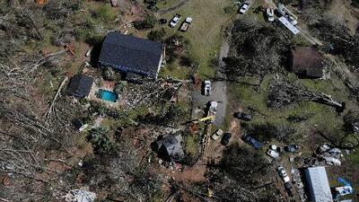 Al menos 20 tornados tocaron tierra en Alabama, Georgia y otros estados del sureste del país
