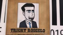 """""""Tricky Rosselló"""" y otras ingeniosas pancartas en el duodécimo día de protestas en Puerto Rico"""
