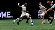 Kamal Miller revienta el travesaño y Atlanta United se salva del primero