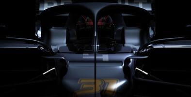 Renault expone parcialmente su bólido RS20