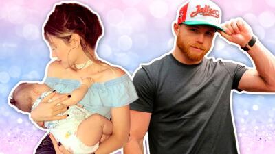 No hay duda de que es su hija: la bebé de Saúl 'Canelo' Álvarez es idéntica a su papá