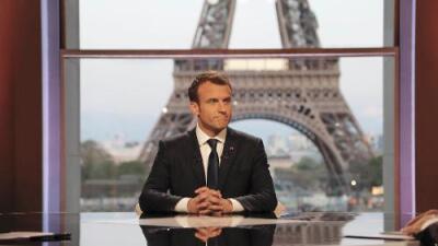 """Macron: """"Convencí a Trump de limitar el ataque (en Siria) cuando ya se había embalado"""" con las amenazas"""