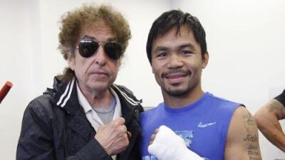 Bob Dylan, el ganador del Nobel de literatura también le dedicó letras al boxeo