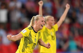 En fotos: Canadá falla penalti y Suecia avanza a Cuartos de Final del Mundial Femenino