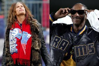 Los artistas del Super Bowl: los famosos tienen sus favoritos entre Rams y Patriots