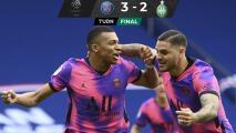 PSG logra triunfo agónico ante Saint Etienne y sigue peleando el título