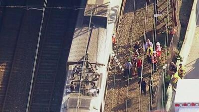 Varias personas sufrieron heridas leves por el descarrilamiento de un tren de Metro–North en Rye