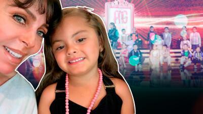 La nieta de Verónica Castro le pidió un dulce regalo de cumpleaños, que tiene que ver con Pequeños Gigantes