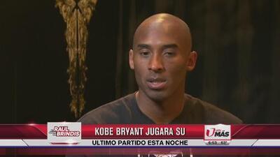 Kobe Bryant jugará su último partido