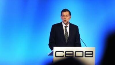 Rajoy anunció 'difíciles' medidas económicas para este año
