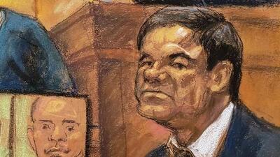 La Fiscalía revela grabaciones sobre una venta de heroína en el juicio de 'El Chapo' Guzmán