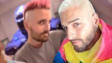 Maluma y el ex de Kourtney Kardashian llevan su look a otro nivel con el 'Papi Cut Challenge'